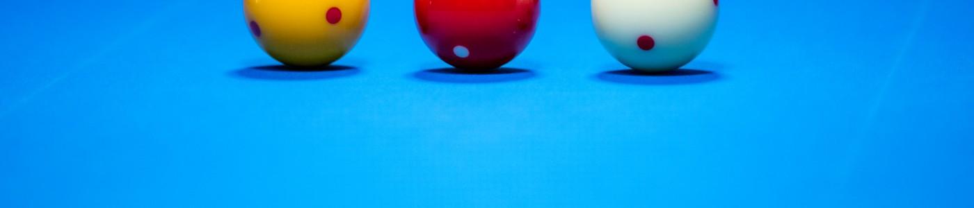 4 billiard balls